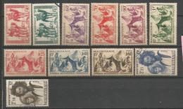 Timbre Colonie Française Mauritanie Neuf * Et Oblitéré N 105 / 115 - Neufs