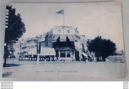 CPA - ROYAN - Boulevard Torchut (Café Des Bains) - Royan