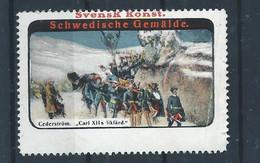 Schweden - Alte Vignette - Cinderella Stamp - 3 - Sonstige