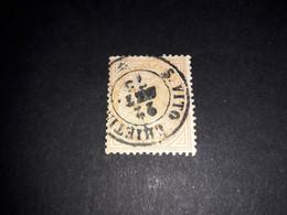 """A8MIX16 REGNO D'ITALIA 1863 SERIE DE LA RUE 10 C. """"XO"""" - Used"""