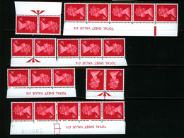 GB 1979 Machin 8p One Centre Phosphor Band With Selvedge Data MNH Unmounted Mint - Série 'Machin'