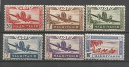 Timbre Colonie Française Mauritanie Neuf * P-a N 10 /15 - Neufs