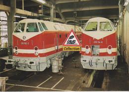 Locos Diesel 2190192-2 Et 219 114-6, Aux Ateliers De Chemnitz (Allemagne) - - Zubehör