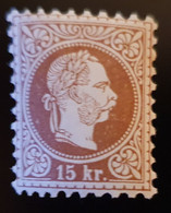 Österreich 1874, Mi 39 Type II, MH Ungebraucht - Unused Stamps