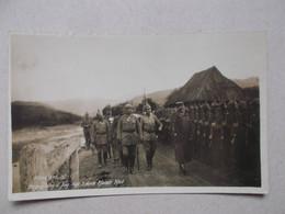 CARTE PHOTO KARPATHEN Regt 3 Durch Kaiser Karl - Romania