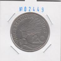 Zaire 20 Makuta 1973 Km#8 - Zaire (1971-97)