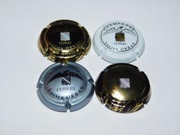 Lot De 4 Capsules De Champagne - ORBAN LUCIEN - Collections