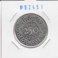 Suriname 250 Cent 1989 Km#24 - Surinam 1975 - ...