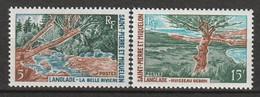 ST PIERRE Et MIQUELON - N°385/6 ** (1969) - Unused Stamps