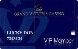 Grand Victoria Casino - Elgin, IL - VIP Member Slot Card - Casino Cards