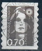 YT AA Adh N° 6 (2873) Marianne Du Bicentenaire - Cachet Rond - 1989-96 Maríanne Du Bicentenaire