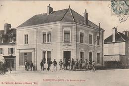 IN 13 - (71)  SAINT BONNET DE JOUX - LE BUREAU DE POSTE  - 2 SCANS - Altri Comuni