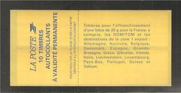 France, 2874-C5, Daté, Pointillé SOUS Les 2 Lignes, Carnet Neuf **, TTB, Non Plié, Sagem, Carnet Marianne De Briat - Definitives