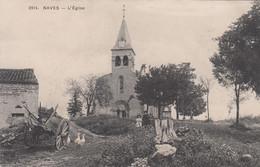 19 - NAVES - CORREZE - L'EGLISE - VOIR SCANS - Andere Gemeenten