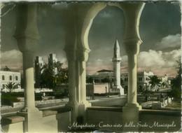 SOMALIA - MOGADISCIO / MOGADISHU - CENTRO VISTO DALLA SEDE MUNICIPALE - EDIZIONE FOTOCINE - 1950s  (BG10648) - Somalia