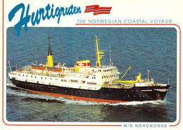 "Hurtigruten ""M/S Nordnorge"" - Dampfer"