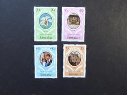 JAMAICA SG 516-19 1981 Royal Wedding Charles/Diana MNH - Jamaica (1962-...)