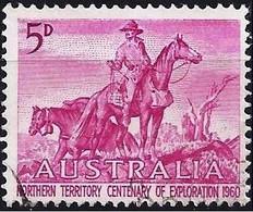 Australia 1960 - Mi 306 - YT 268 ( Explorers Of The Northern Territories ) - Usati