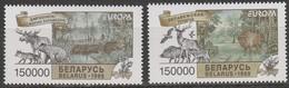 Biélorussie Europa 1999 N° 287/ 288 ** Reserves Et Parcs - 1999