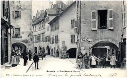 74 ANNECY - Rue Sainte-Claire - Annecy