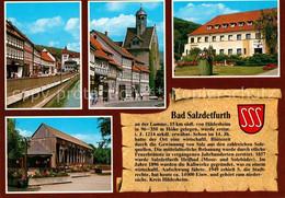 73251621 Bad_Salzdetfurth Marktstrasse Georgskirche Kurmittelhaus Gradierwerk Ch - Bad Salzdetfurth
