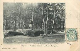 VIARMES-la Forêt De Carnelle-la Pierre Turquoise - Viarmes