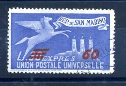 1947-48 SAN MARINO ESPRESSO N.19 USATO - Express Letter Stamps