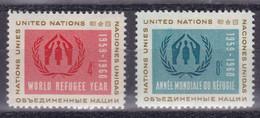 United Nations New York YT** 72-73 - Nuevos