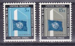 United Nations New York YT** 104-105 - Nuevos