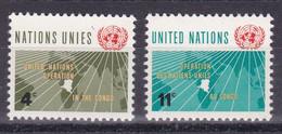 United Nations New York YT** 106-107 - Nuevos