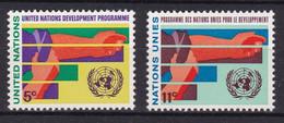 United Nations New York YT** 161-162 - Nuevos