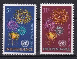 United Nations New York YT** 163-164 - Nuevos