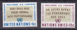 United Nations New York YT** 172-173 - Nuevos