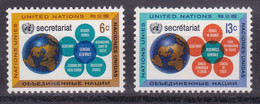 United Nations New York YT** 175-176 - Nuevos