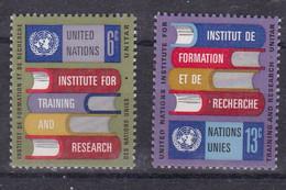 United Nations New York YT** 186-187 - Nuevos
