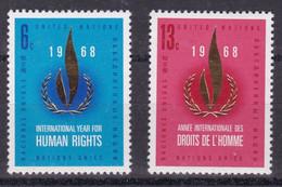 United Nations New York YT** 184-185 - Nuevos