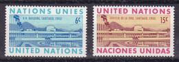United Nations New York YT** 188-189 - Nuevos