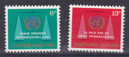 United Nations New York YT** 191-192 - Nuevos