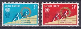 United Nations New York YT** 193-194 - Nuevos