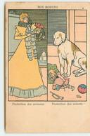 N°17095 - Nos Moeurs - Protection Des Animaux, Protection Des Enfants - Chien - Other