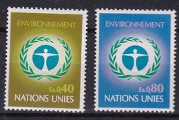 United Nations Genève YT** 25-26 - Nuevos