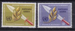 United Nations Genève YT** 30-31 - Nuevos