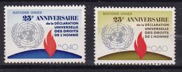 United Nations Genève YT** 35-36 - Nuevos