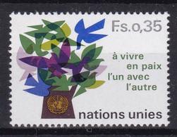 United Nations Genève YT** 72+75 - Nuevos
