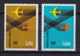 United Nations Genève YT** 76-77 - Nuevos