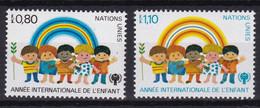 United Nations Genève YT** 83-84 - Nuevos