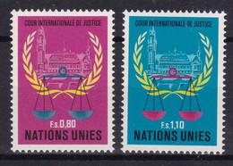United Nations Genève YT** 86-87 - Nuevos