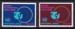 United Nations Genève YT** 89-90 - Nuevos