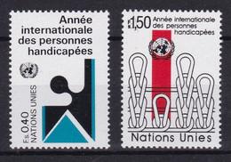 United Nations Genève YT** 97-98 - Nuevos