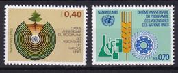 United Nations Genève YT** 101-102 - Nuevos
